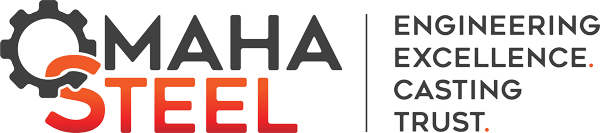 Omaha Steel - Tagline Main Logo