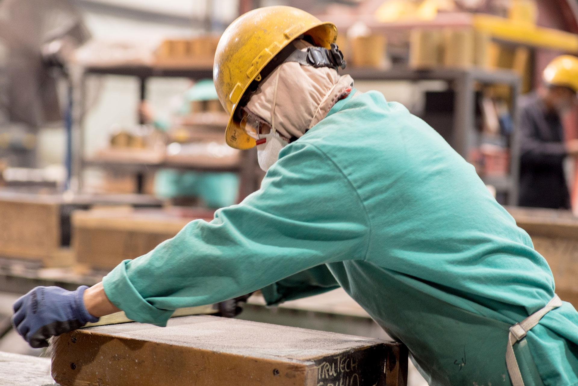Omaha Steel - Sand Molding